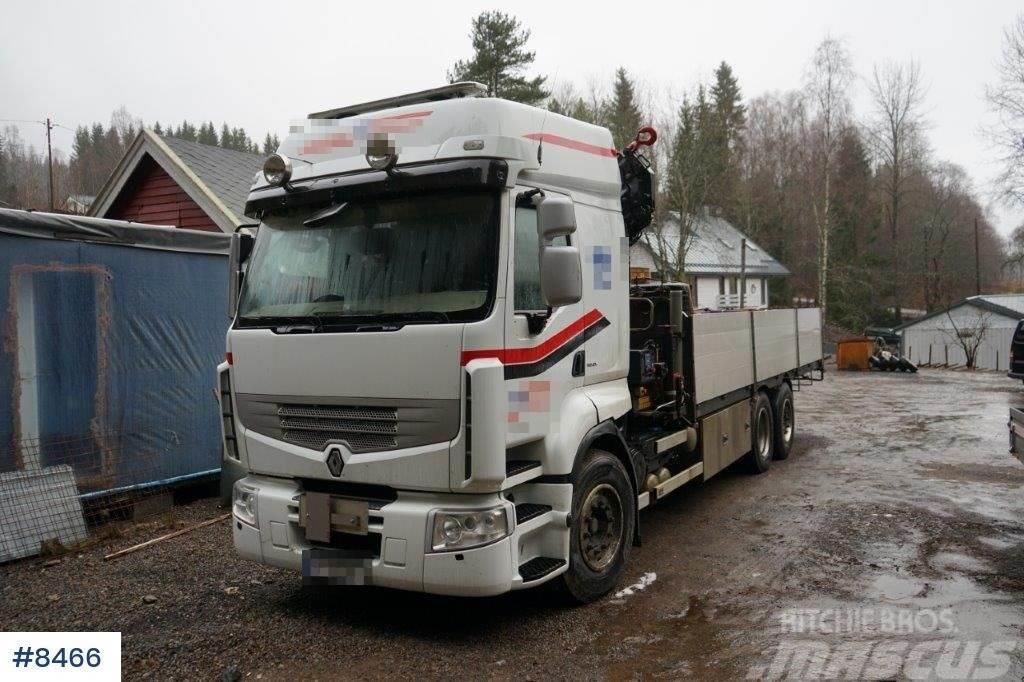 Renault Premium 460 Crane truck