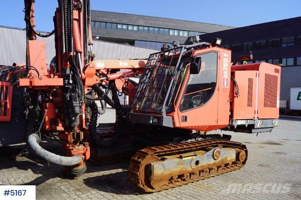 Sandvik DX780 T4 borerigg