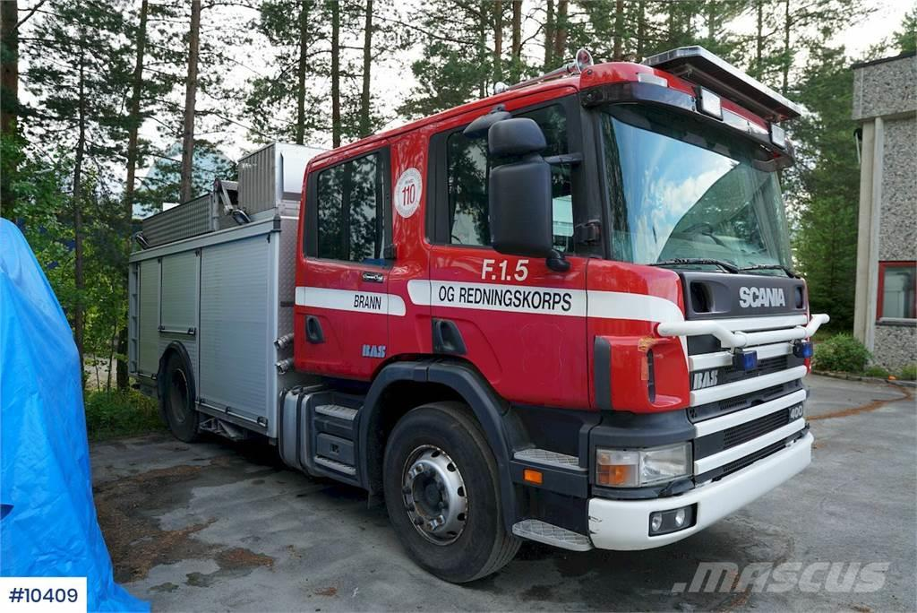 Scania brannbil w/ a lof of equipment
