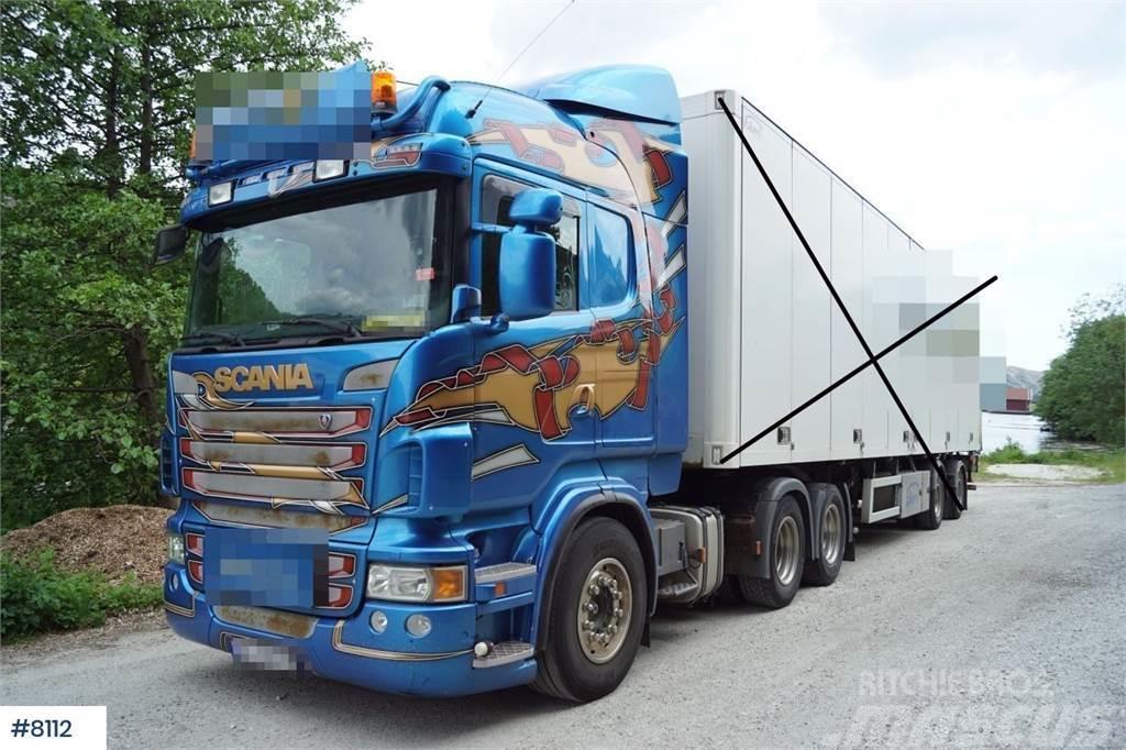 Scania Highline R480 6x2 Trekkvogn med 2 aks City henger