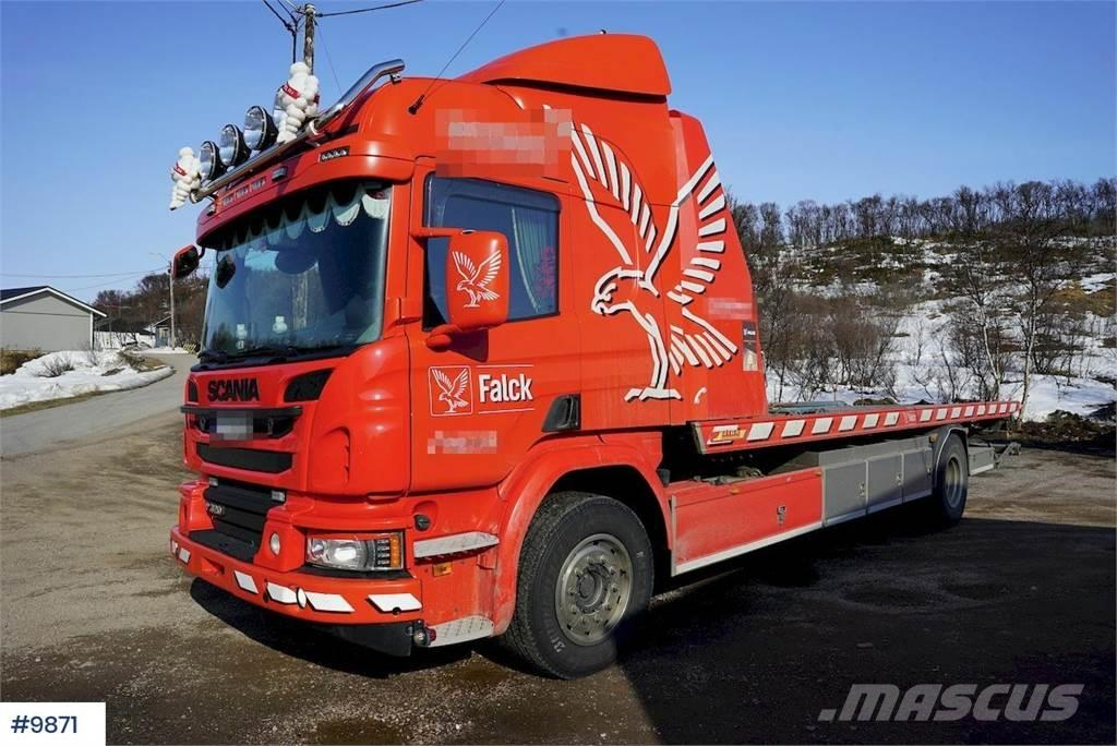 Scania P320 tow truck