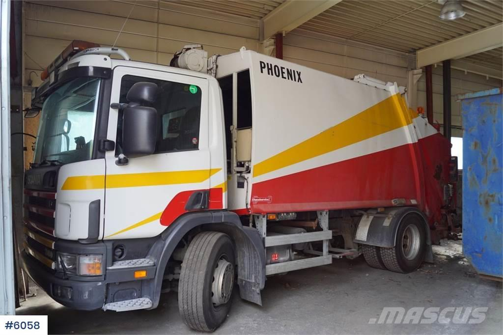 Scania P94 4x2 1 chamber compactor. Low km