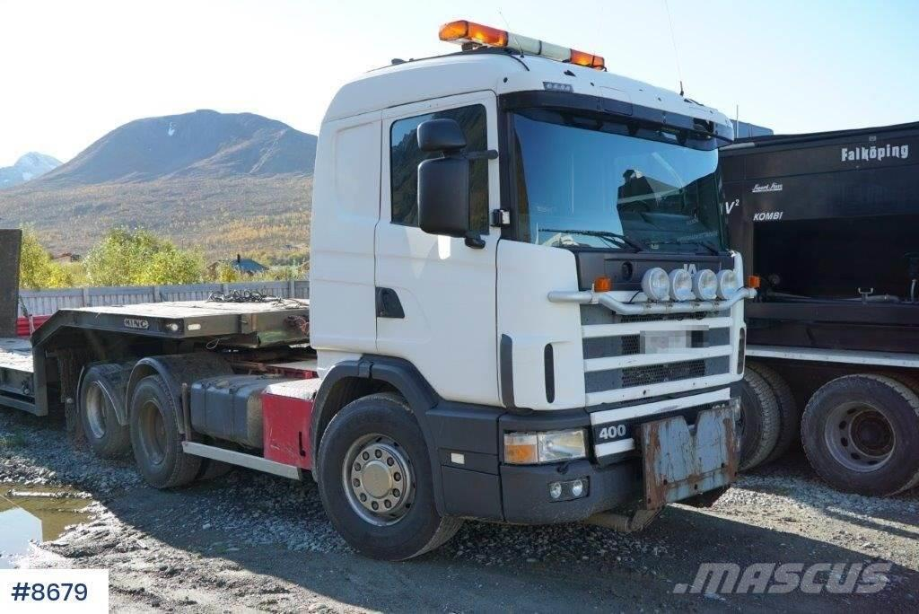 Scania R124 / 400 truck with hydraulics