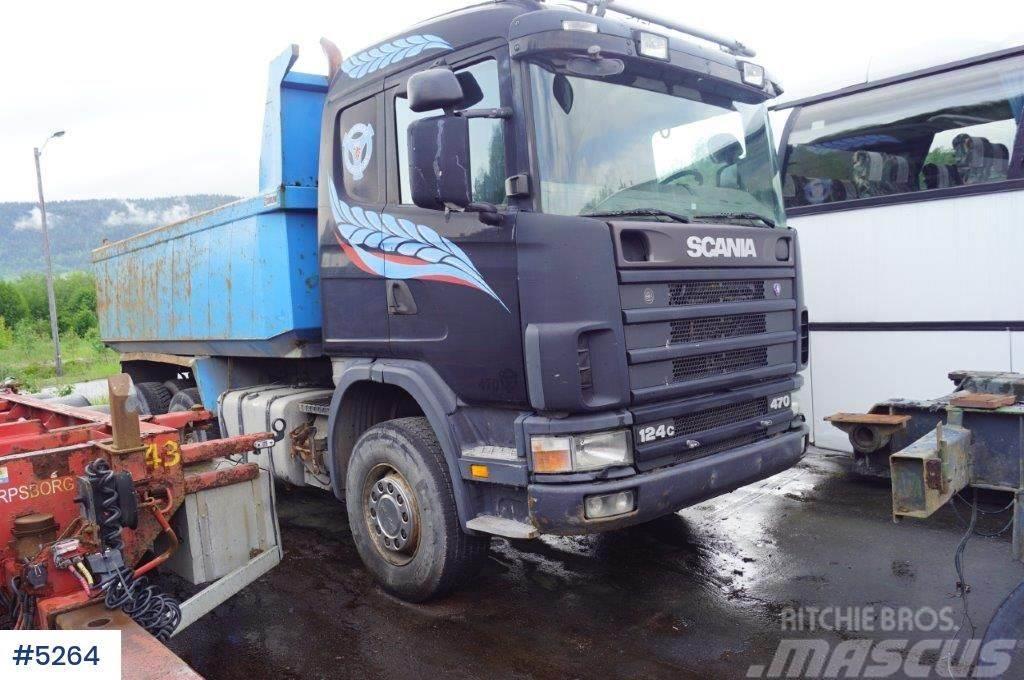 Scania R124 Tandem tippbil m/Sørling kasse