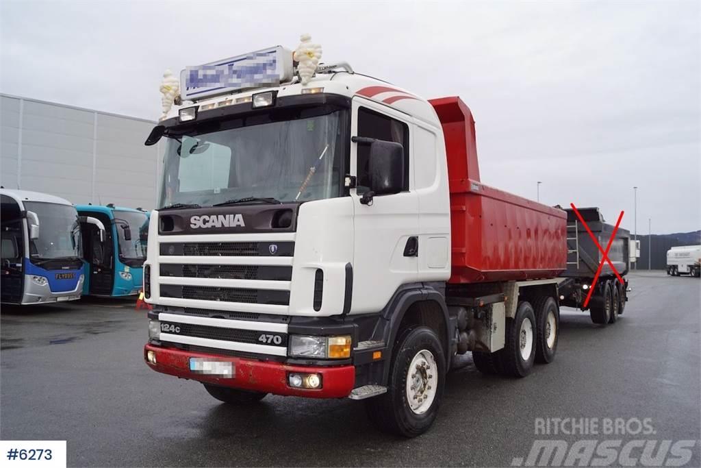 Scania R124C tipper