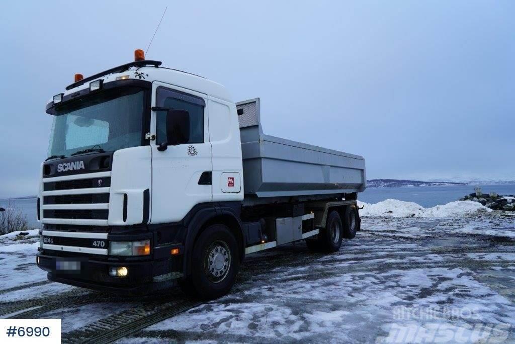 Scania R124G hook lift
