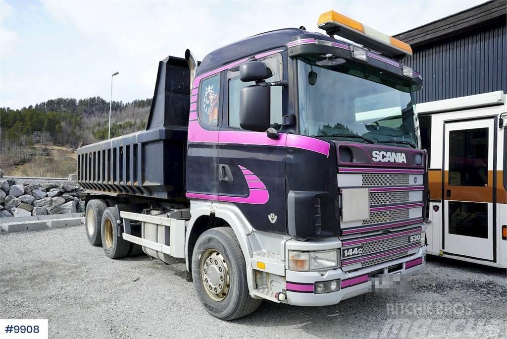 Scania R144 6x2 tipper truck