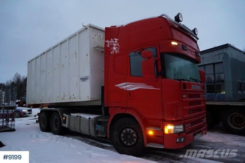 Scania R164 / 580 with multilift hook lift