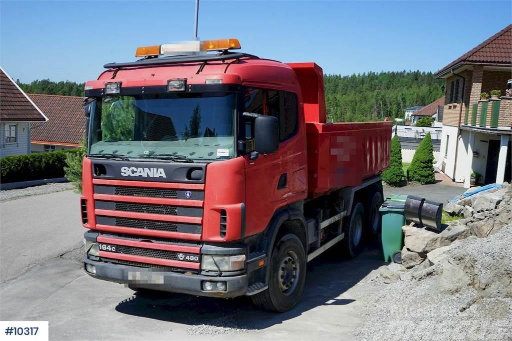 Scania R164 6x4HZ tipper truck