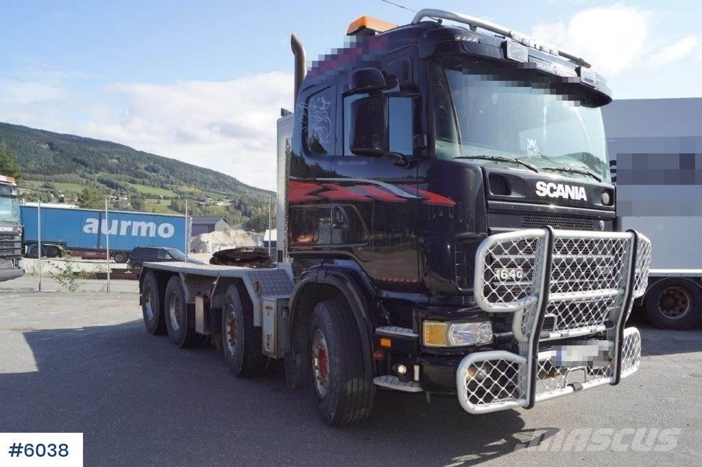 Scania R164 8x4 w/hydr.