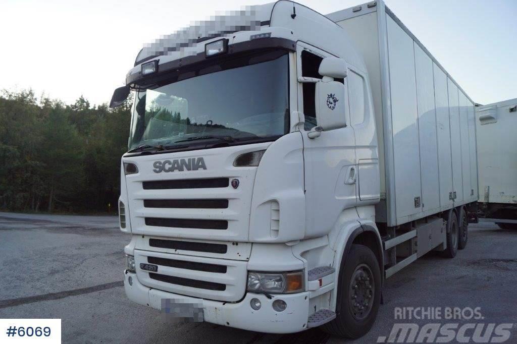 Scania R420 6x2 box truck