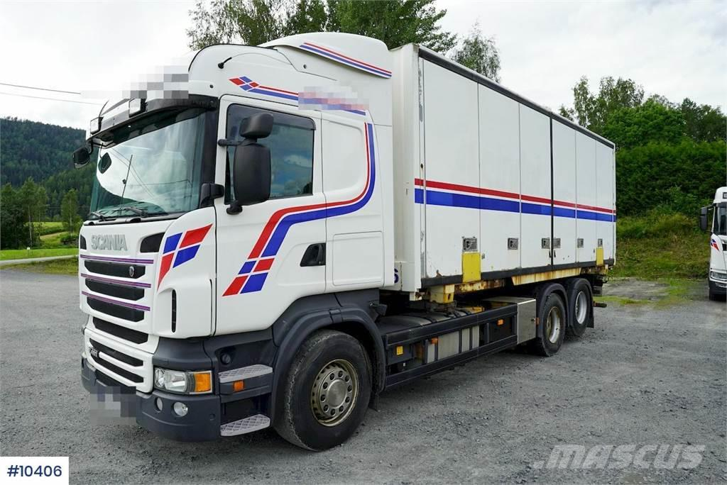 Scania R480 Containerchassis w/ Lift LOW KM, can be sold