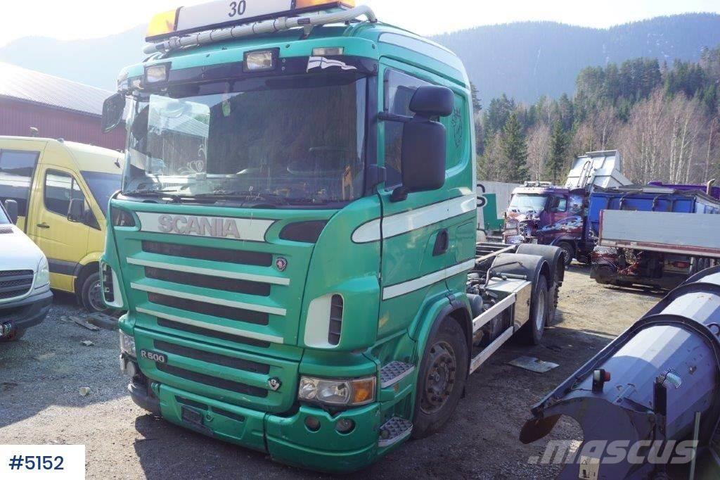 Scania R500 6x2 Chassis