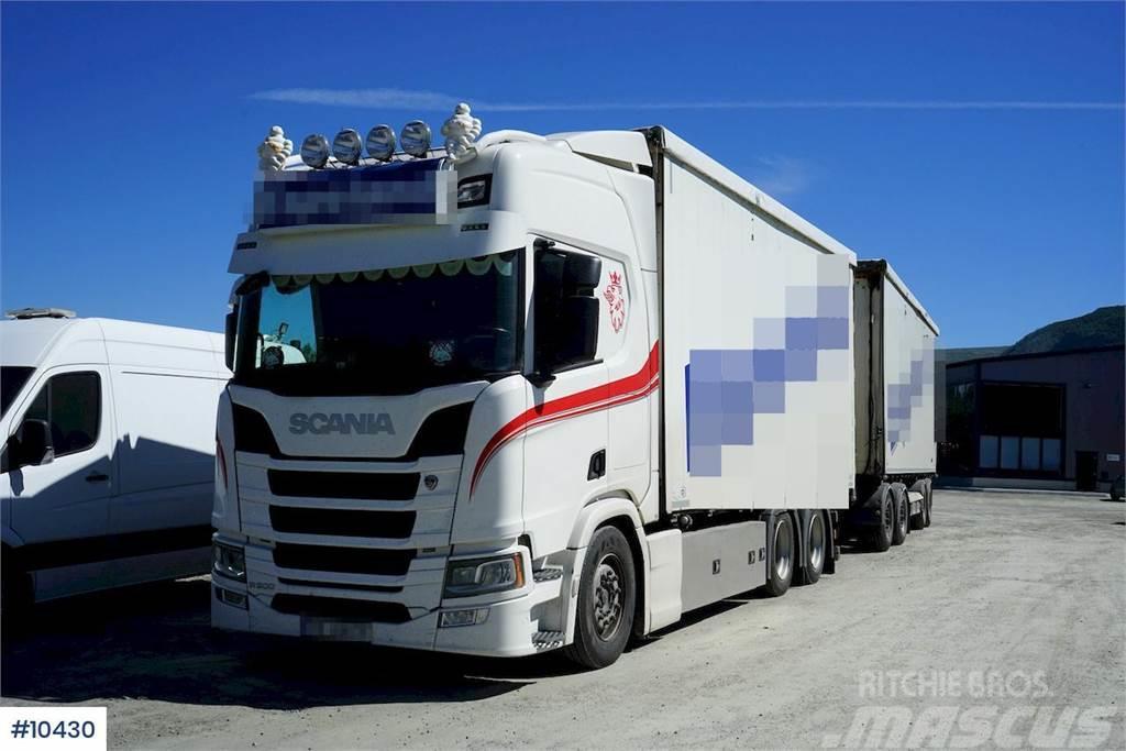 Scania R500 m/VANG Påbygg og VANG SLL 2-2BT Henger