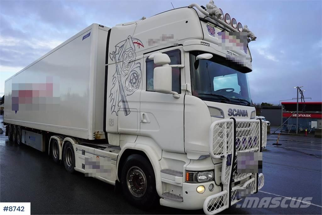 Scania R520 truck, inside cabin refirbiched by BUUR Thoms