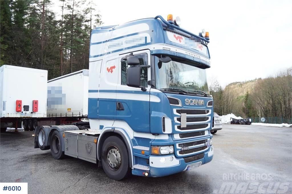 Scania R560 6x2 Topline