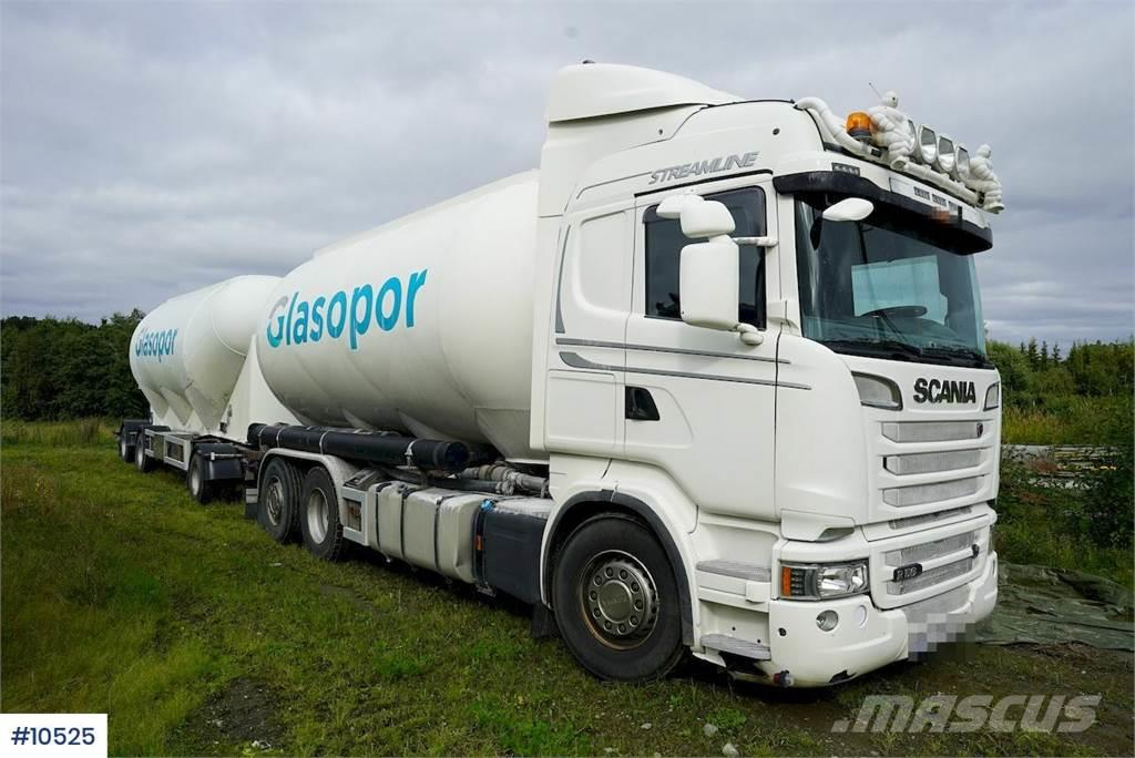 Scania R560 6x2 truck w / 2000 Interconsult trailer