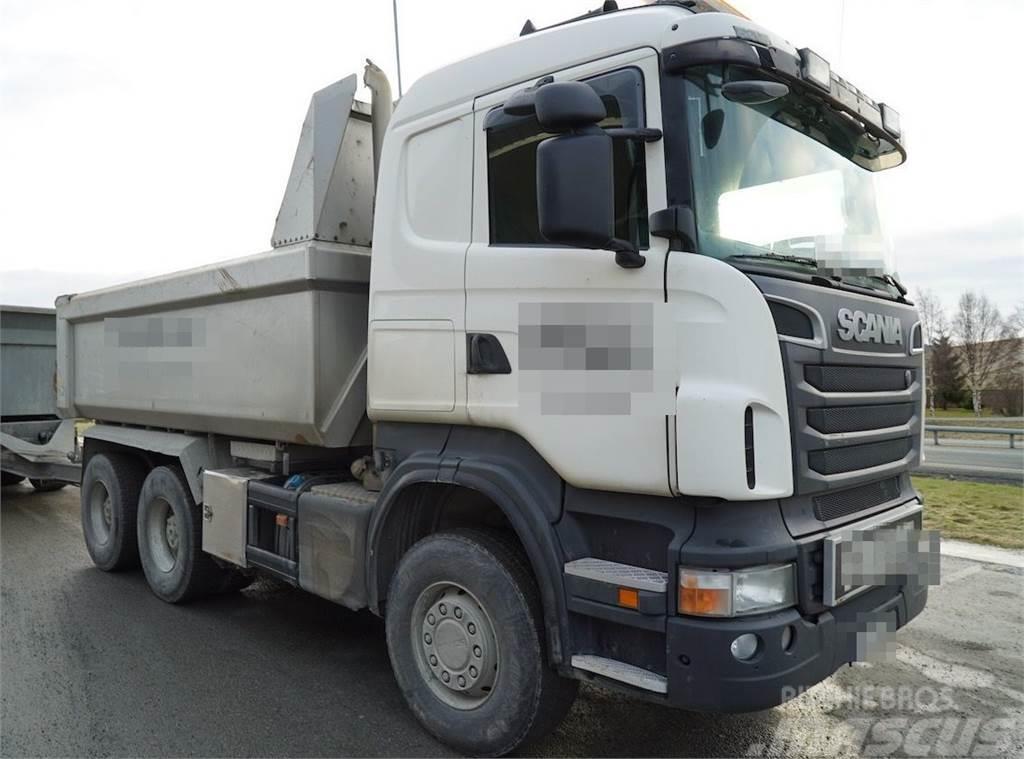 Scania R560 6x4 tipper truck
