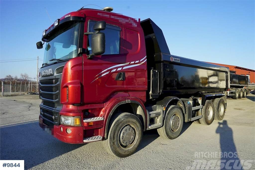 Scania R560 8x4 tipper truck