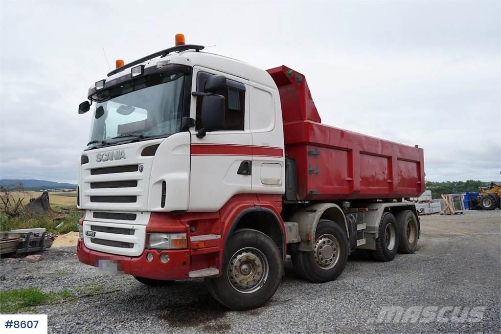 Scania R560 8x4 tipper truck with manual WATCH VIDEO