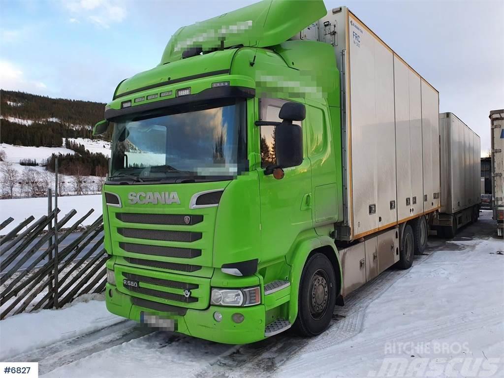 Scania R580 6x2 Box truck