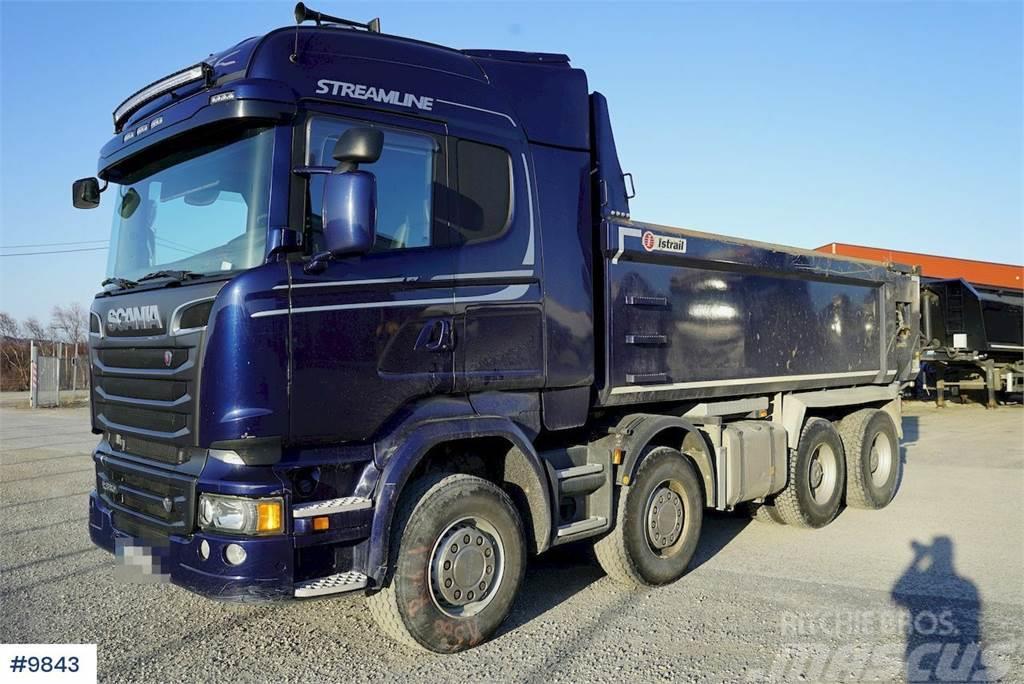 Scania R580 8x4 tipper truck