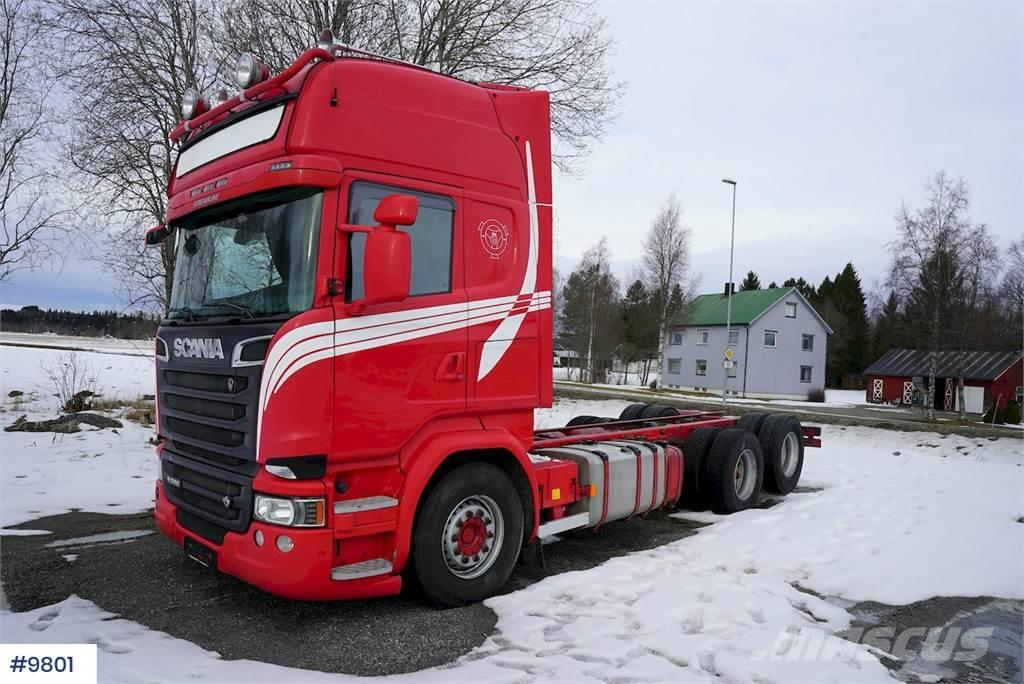 Scania R580 chassis w / hydraulics