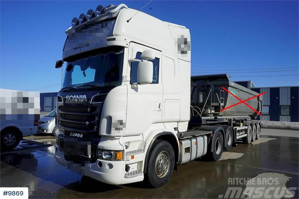 Scania R620 6x2 truck w / hydraulics & snow rigged