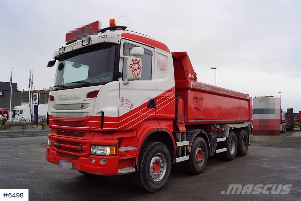 Scania R620 8x4 tipper truck Istrail build