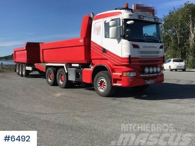 Scania R620 tipper truck