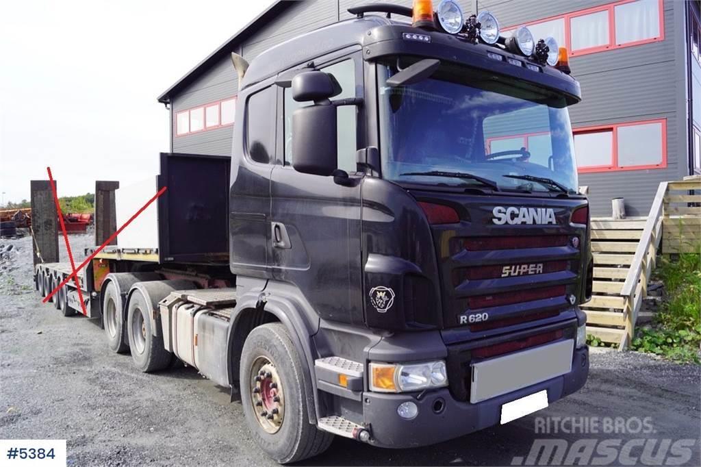 Scania R620 tungtrekker m/ ekstra aksel