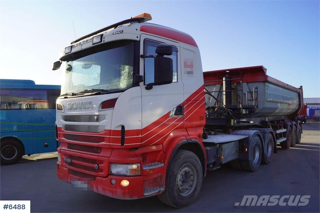 Scania R620 with tipping hydraulics