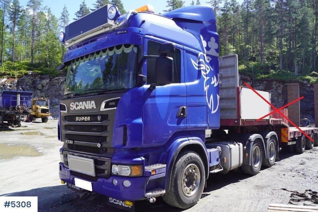 Scania R730 6x4 trekker med hydr.