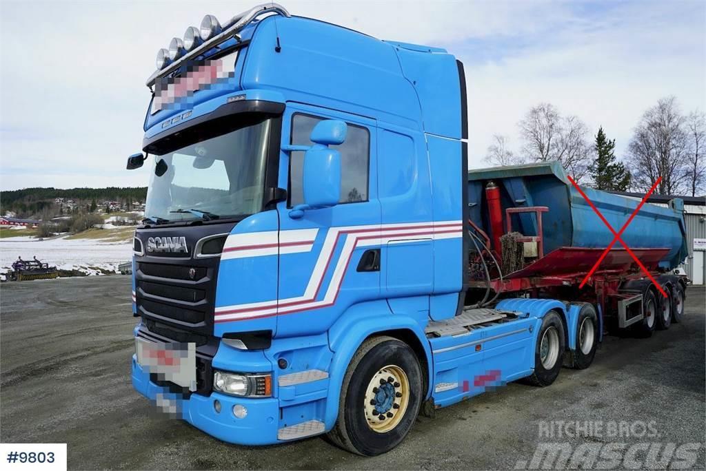 Scania R730 6x4 w / hydraulics