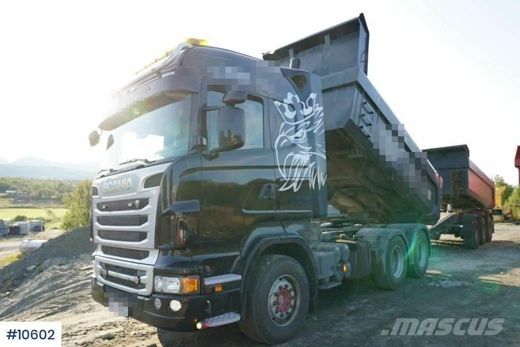 Scania R730 Combi truck with Box