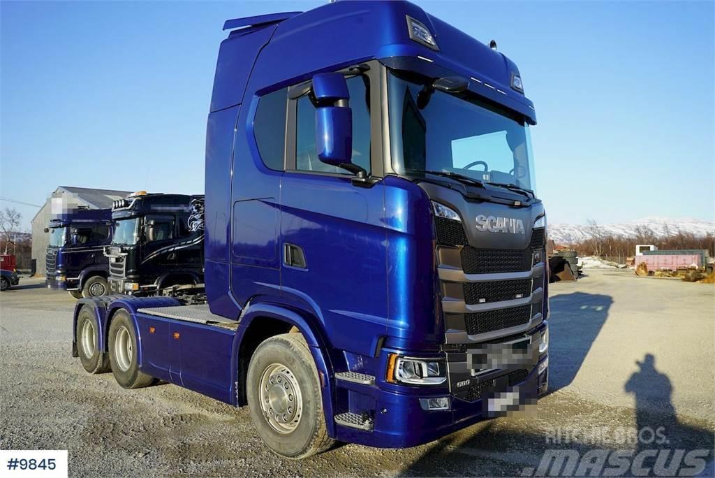 Scania S500 6x4 truck w / hydraulics