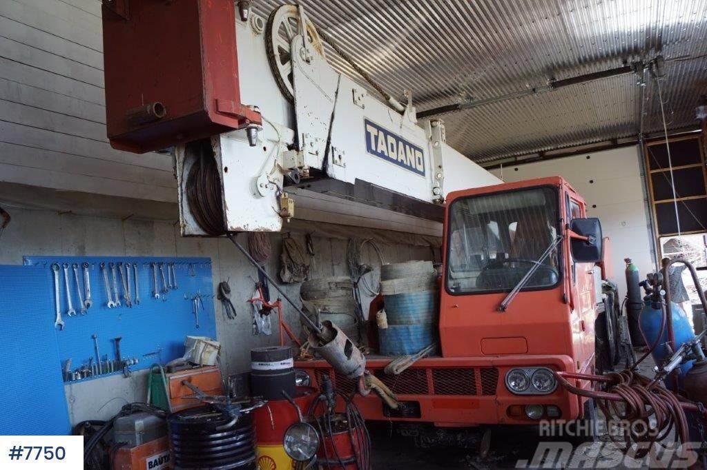 Tadano TL 250E mobile crane WATCH VIDEO