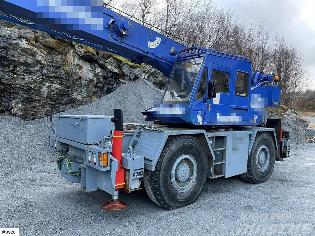 Tadano TR250-EX 4x4 Mobile Crane WATCH VIDEO