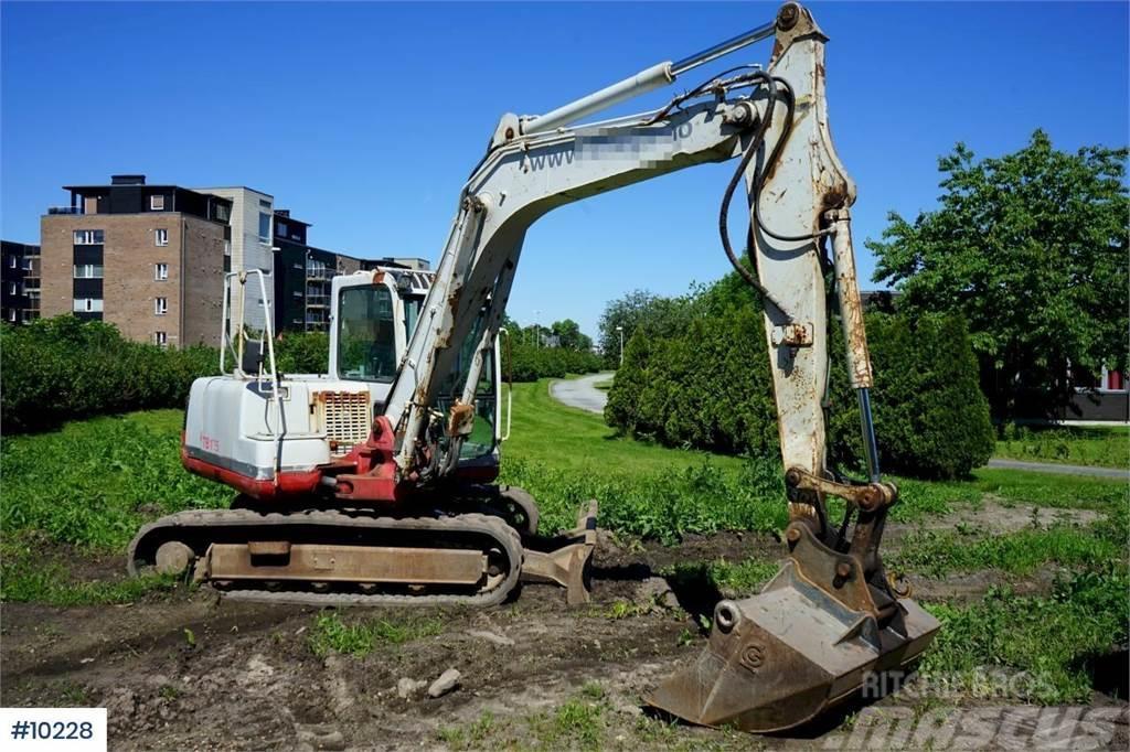Takeuchi TB175 Excavator with few hours.