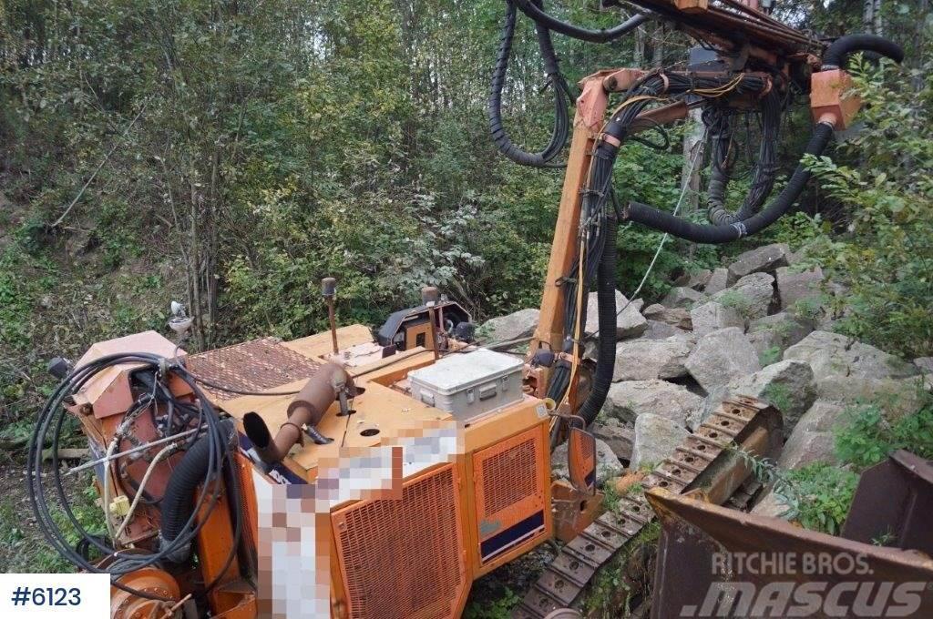 Tamrock Dino 500 drilling rigg