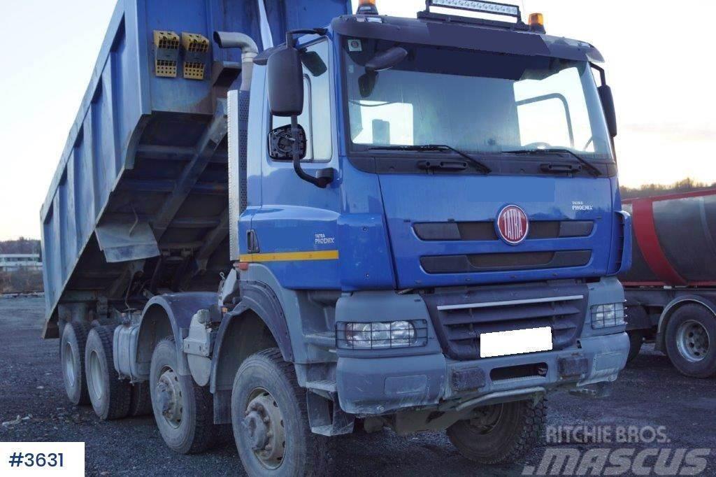 Tatra 8p5r46 8x8 tippbil
