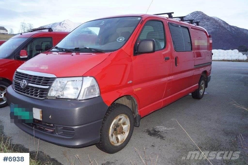 Toyota Hiace 4WD ADR approved