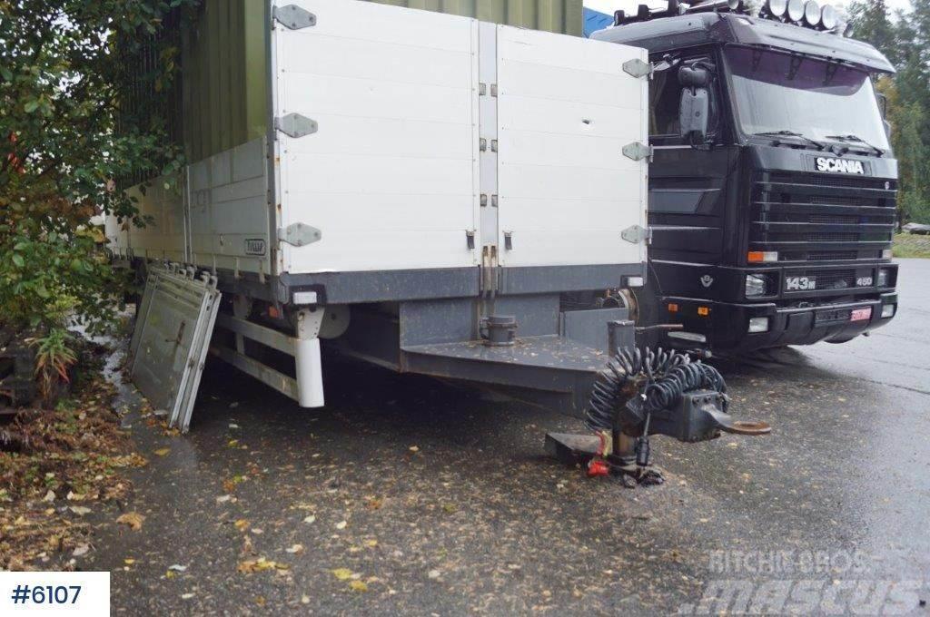 Tyllis 2 axle trailer