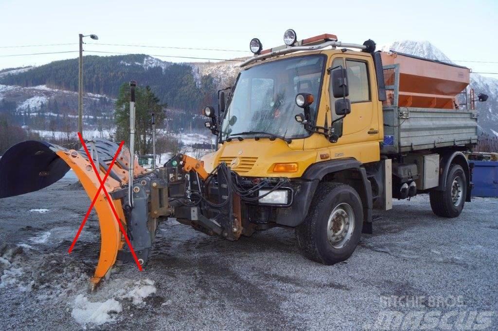 Unimog U500 4x4 m/mye utstyr