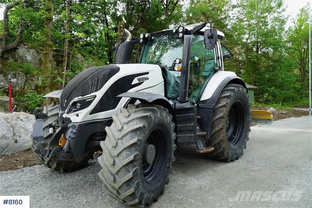 Valtra T 234m / front hydr. & 2 sets of tires, can follow