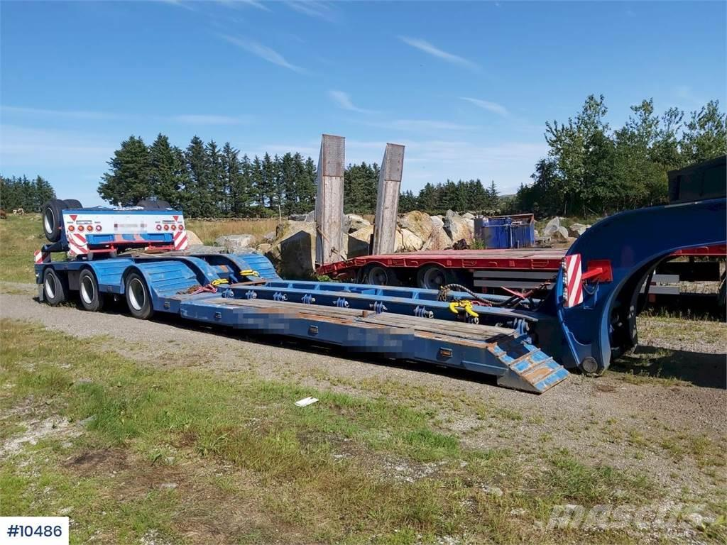 Vang 3 + 1 axle Trailer. Extension + hydr widening.