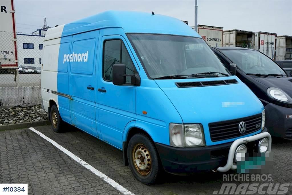 Volkswagen LT 110 hp van. Rep object