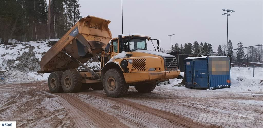 Volvo A 35 D dumpers