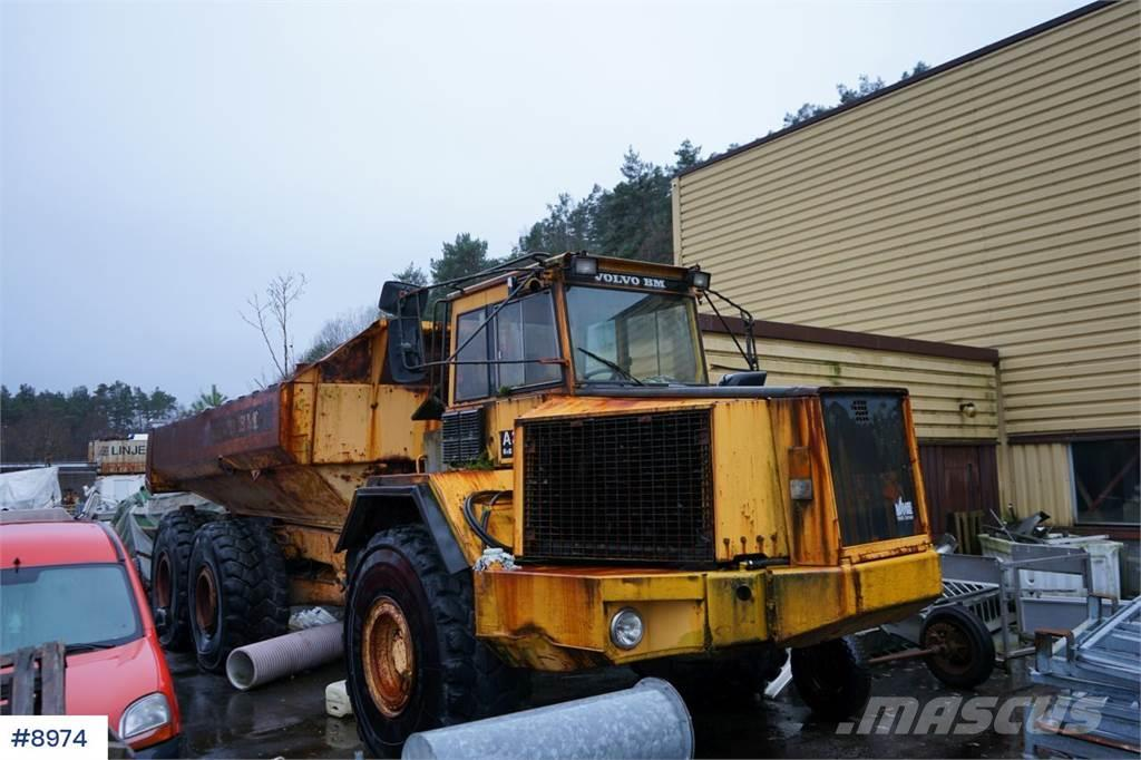 Volvo A35 6x6 Dumper with good tires. Overhaul gearbox.