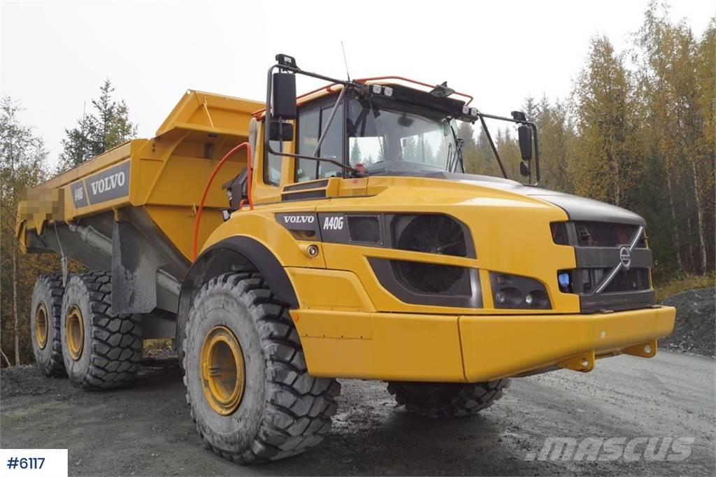 Volvo A40G w / weight & reinforced box